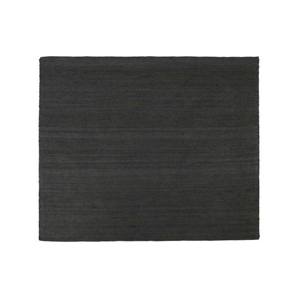 Teppich Hempi - schwarz 250 x 250 cm