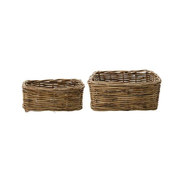Korb Baskit - natur klein 2er Set