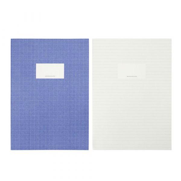Notizbücher Study - blau & grün