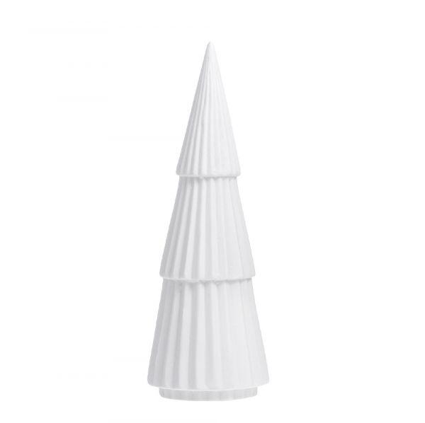 Tannenbaum aus Keramik GRANDALEN - weiß