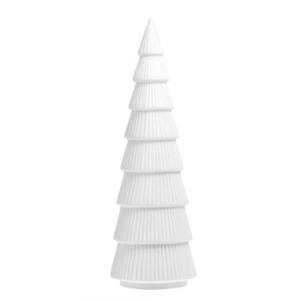 Tannenbaum aus Keramik GRANSUND - weiß L