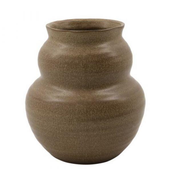 Vase Juno - ocker 19 cm