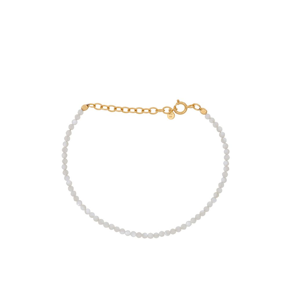 Armband - Shell - gold 15-18 cm