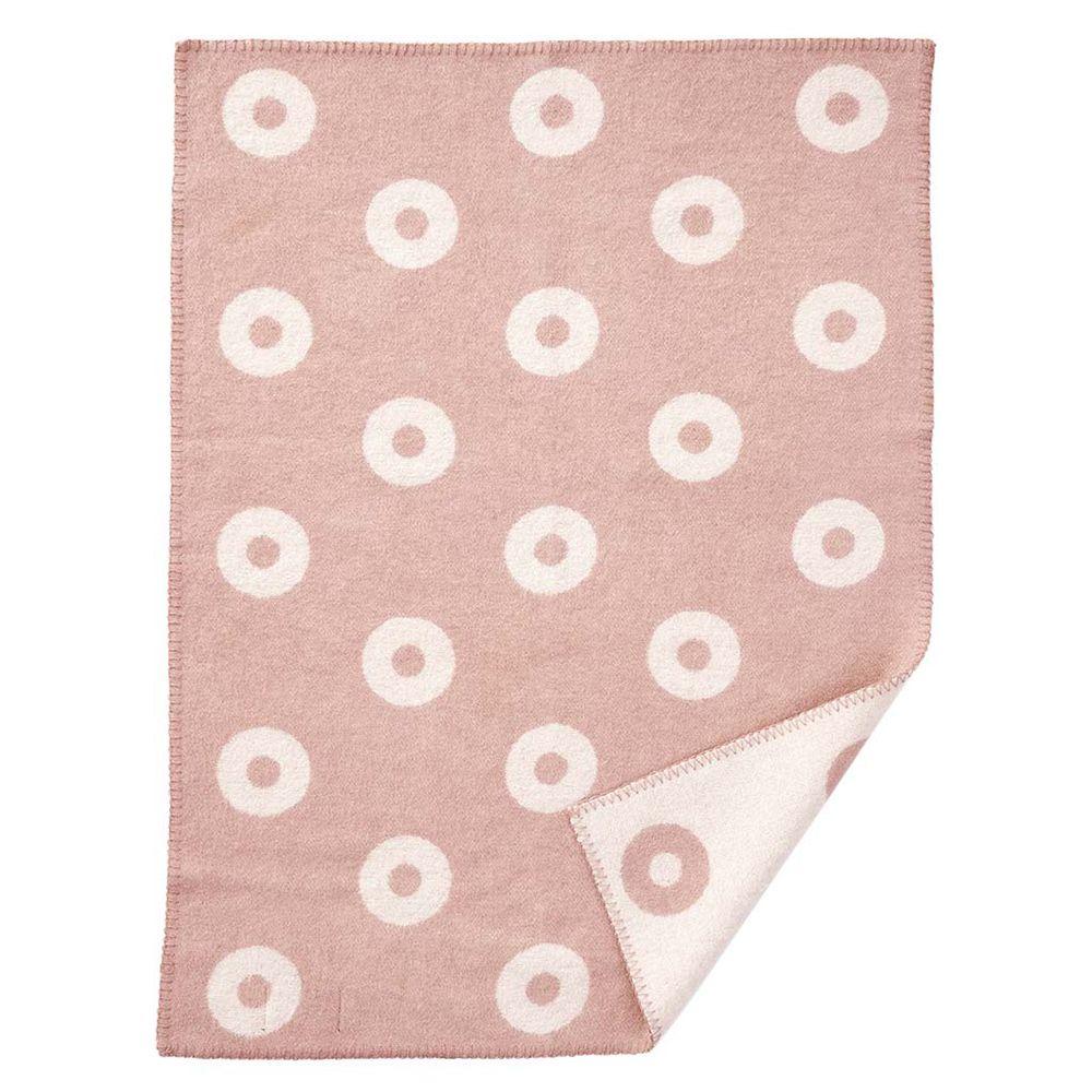 Babydecke Rings Baby - pink