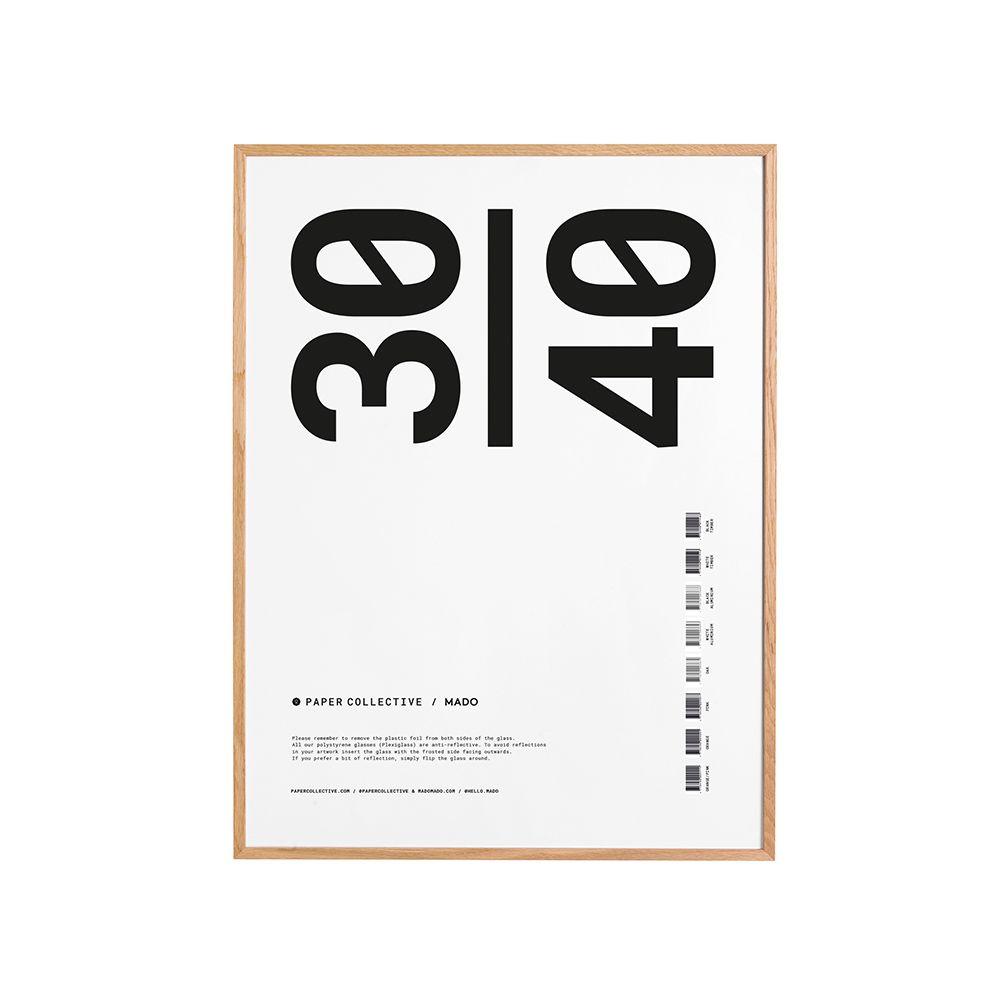 Bilderrahmen - Frame oak - 30x40 cm