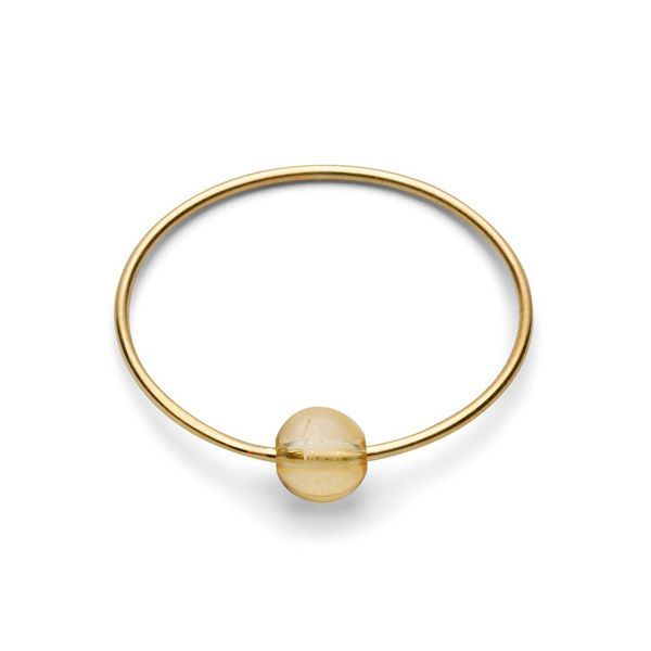 Birthstone Ring - November CITRINE Gr. 1