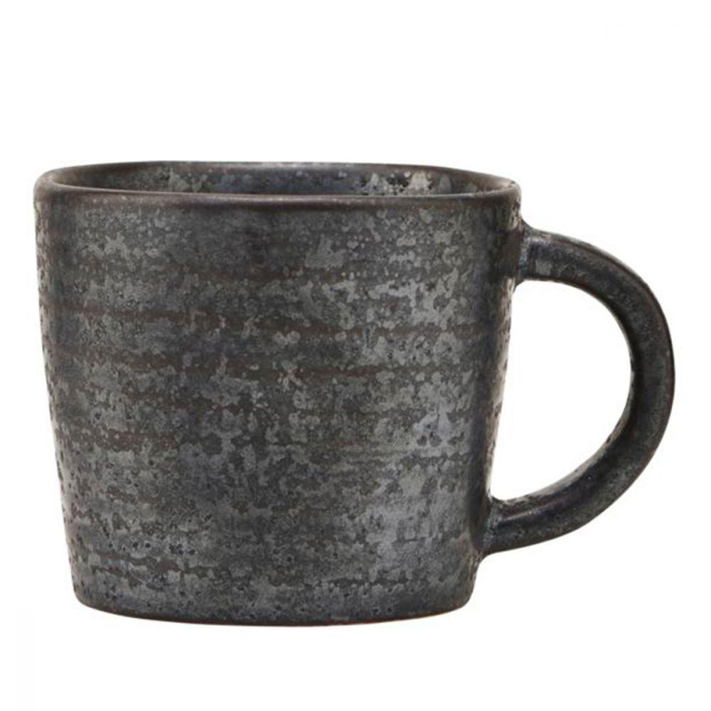 Espressotasse Pion - schwarz/braun Ø 6 cm