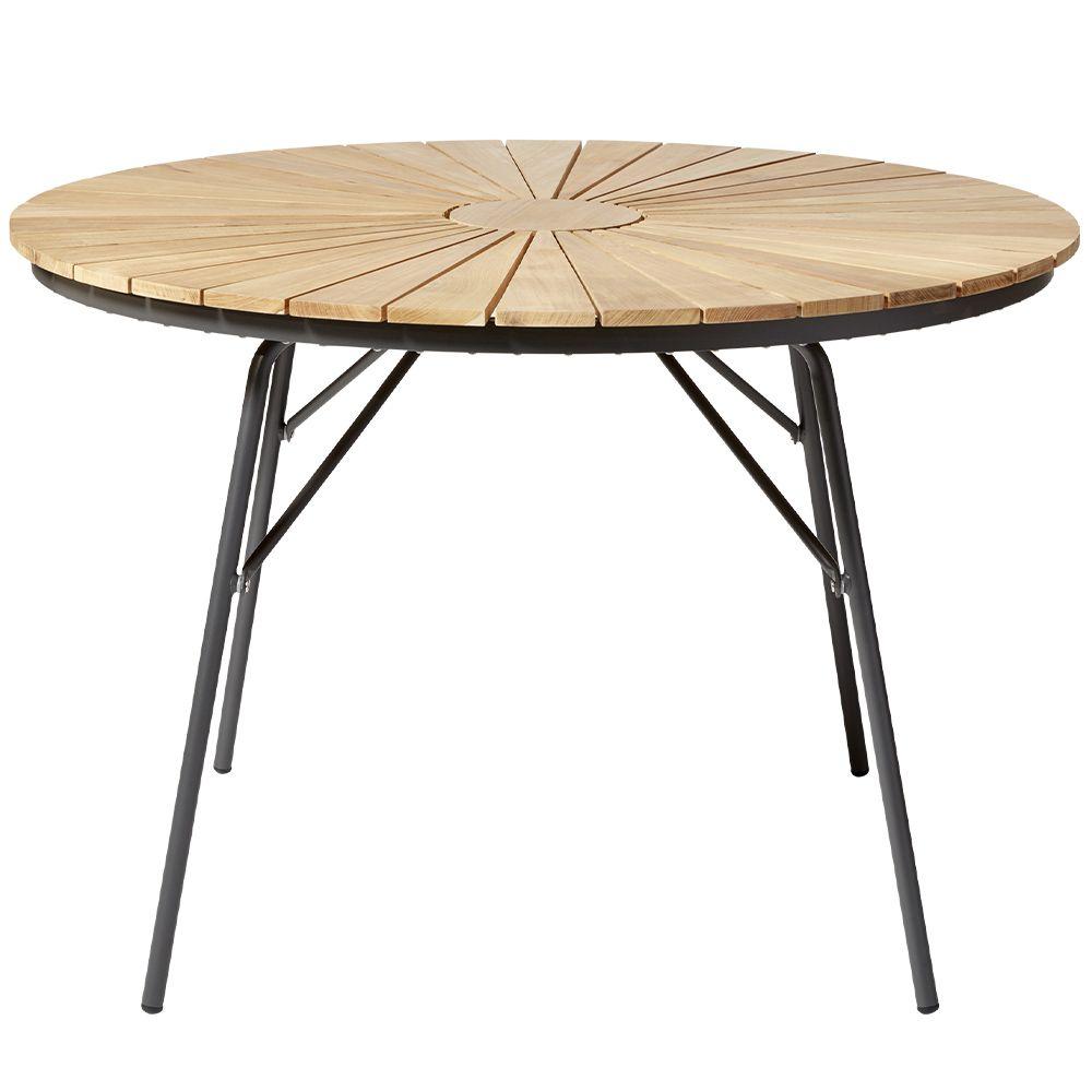 Gartentisch Ellen - anthrazit rund Ø 130 cm
