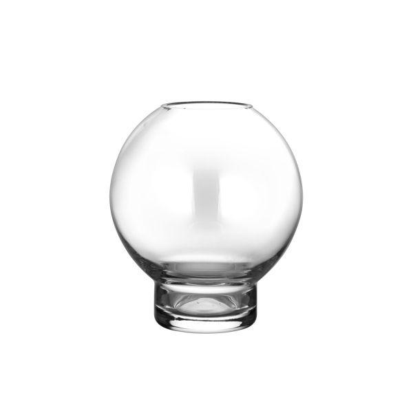 Glasvase/Kerzenglas - rund 10 cm
