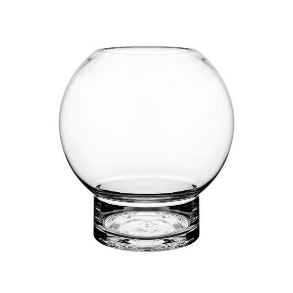 Glasvase/Kerzenglas - rund 24 cm