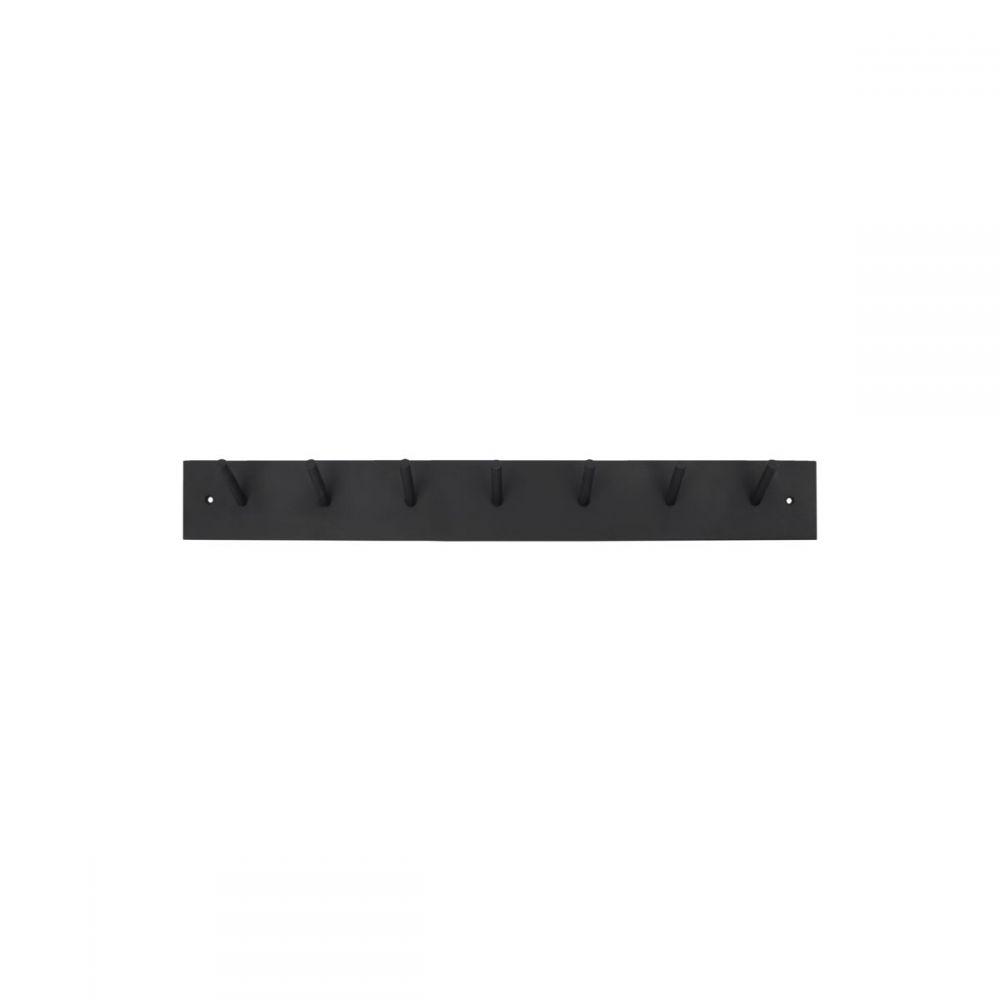 Hakenleiste Miraj - schwarz 60 cm