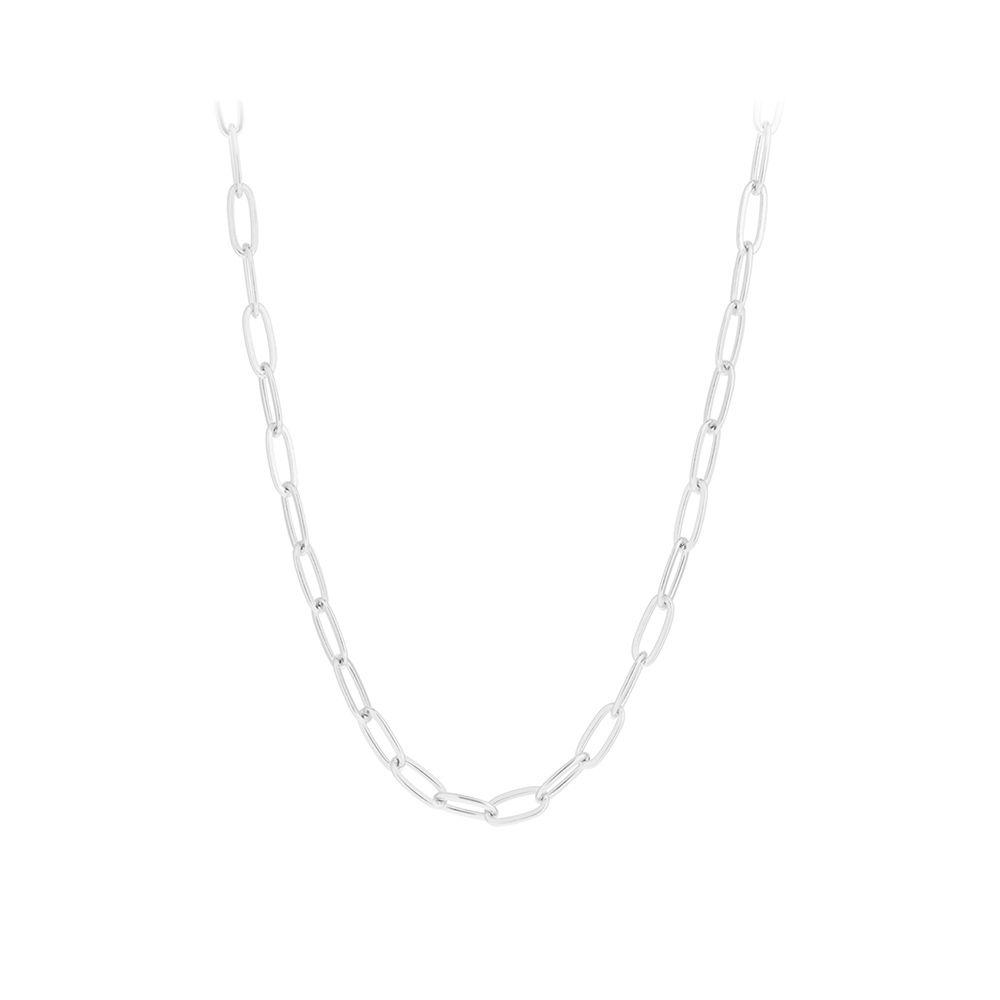 Halskette Esther - silber 45 cm