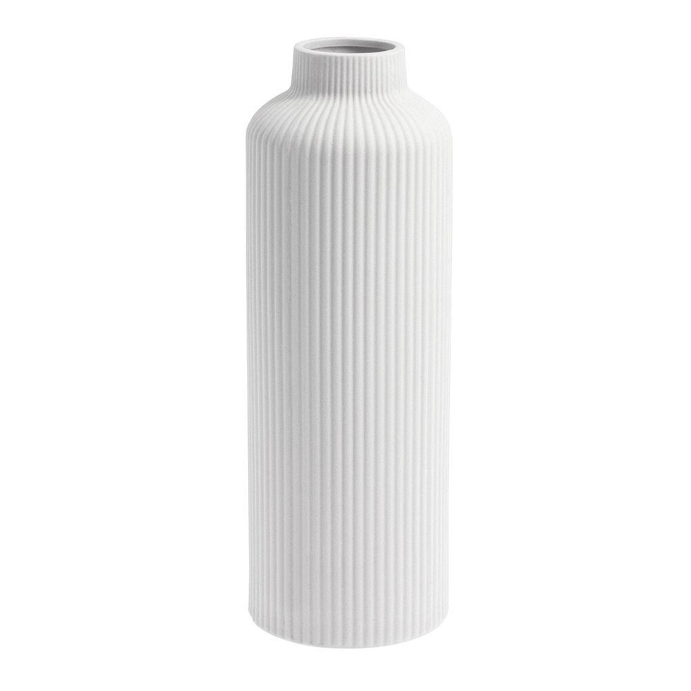 Keramikvase ÅDALA - weiß