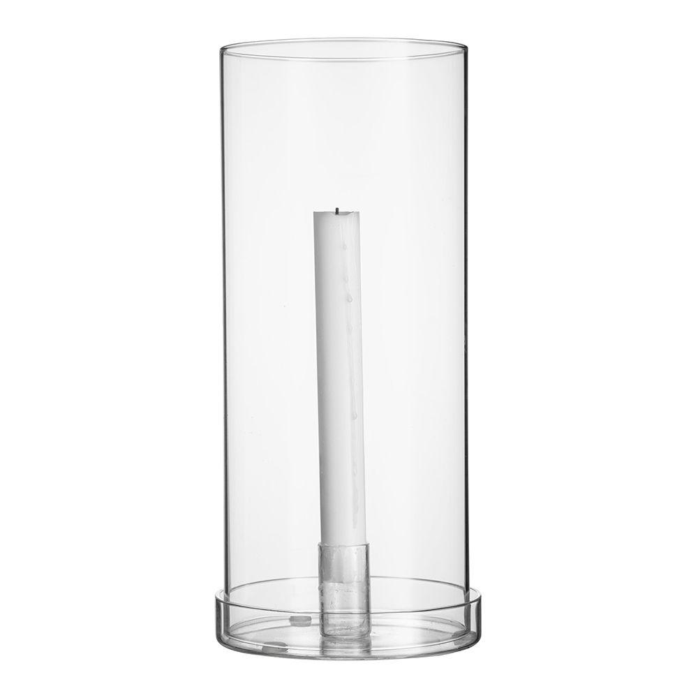 Kerzenhalter für Stabkerzen aus Glas