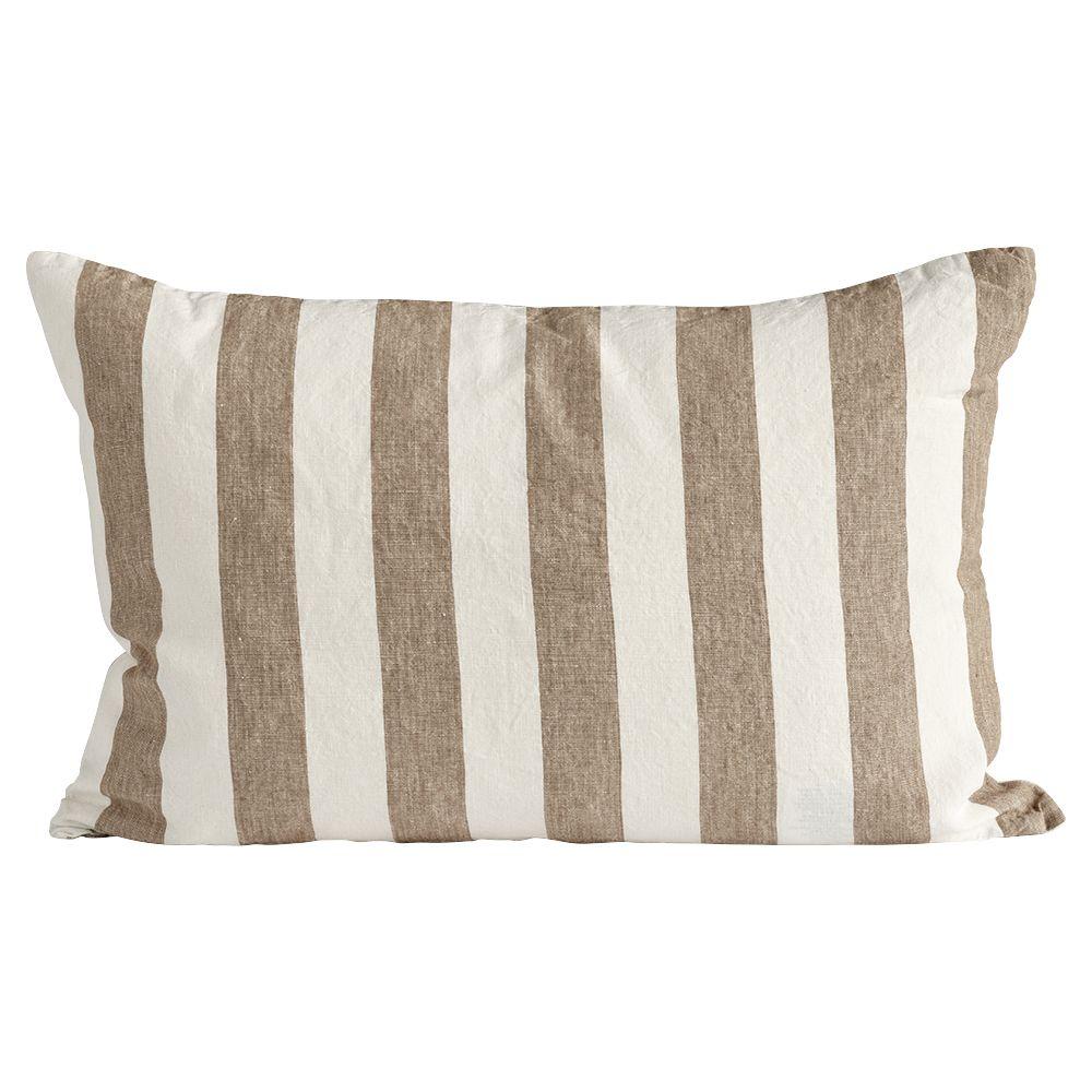 Kissenbezug aus Leinen - walnut 40 x 60 cm