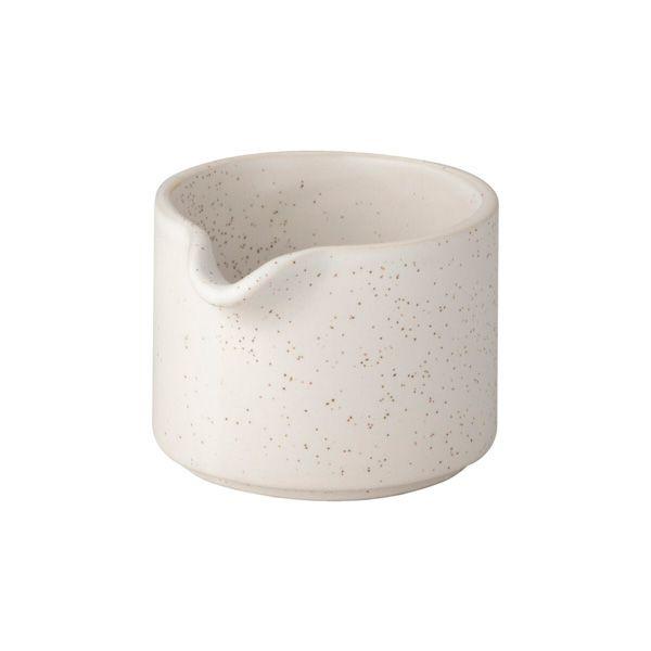 Kleines Milchkännchen - weiß gesprenkelt
