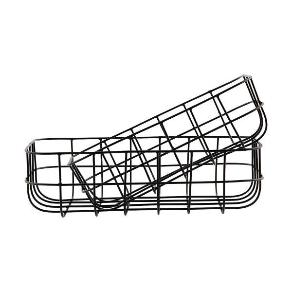 Korb Simply - schwarz 20 x 28 x 8 cm