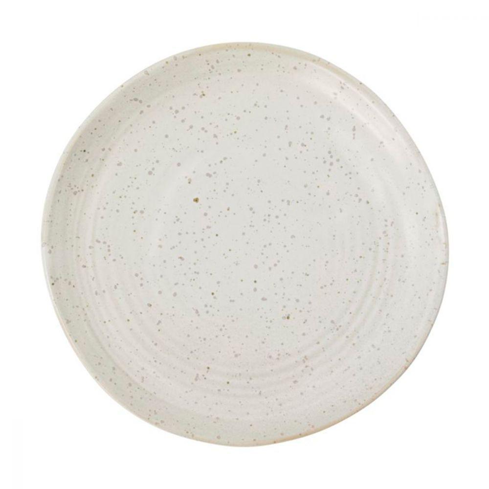 Kuchenteller Pion - grau/weiß Ø 16,5 cm