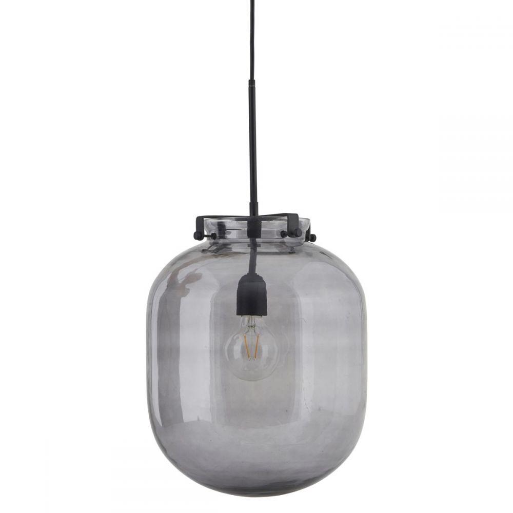 Lampe Ball - grau