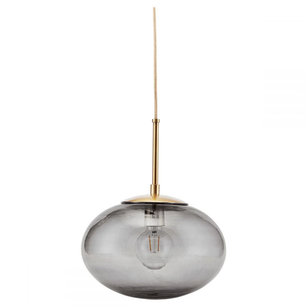 Lampe Opal - grau Ø 30 cm