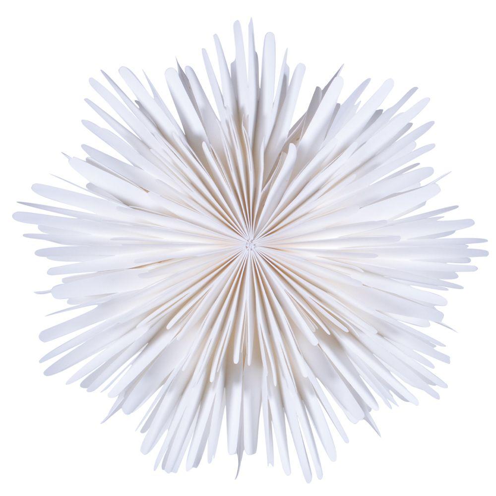 Leuchtstern Molly - weiß 44 cm