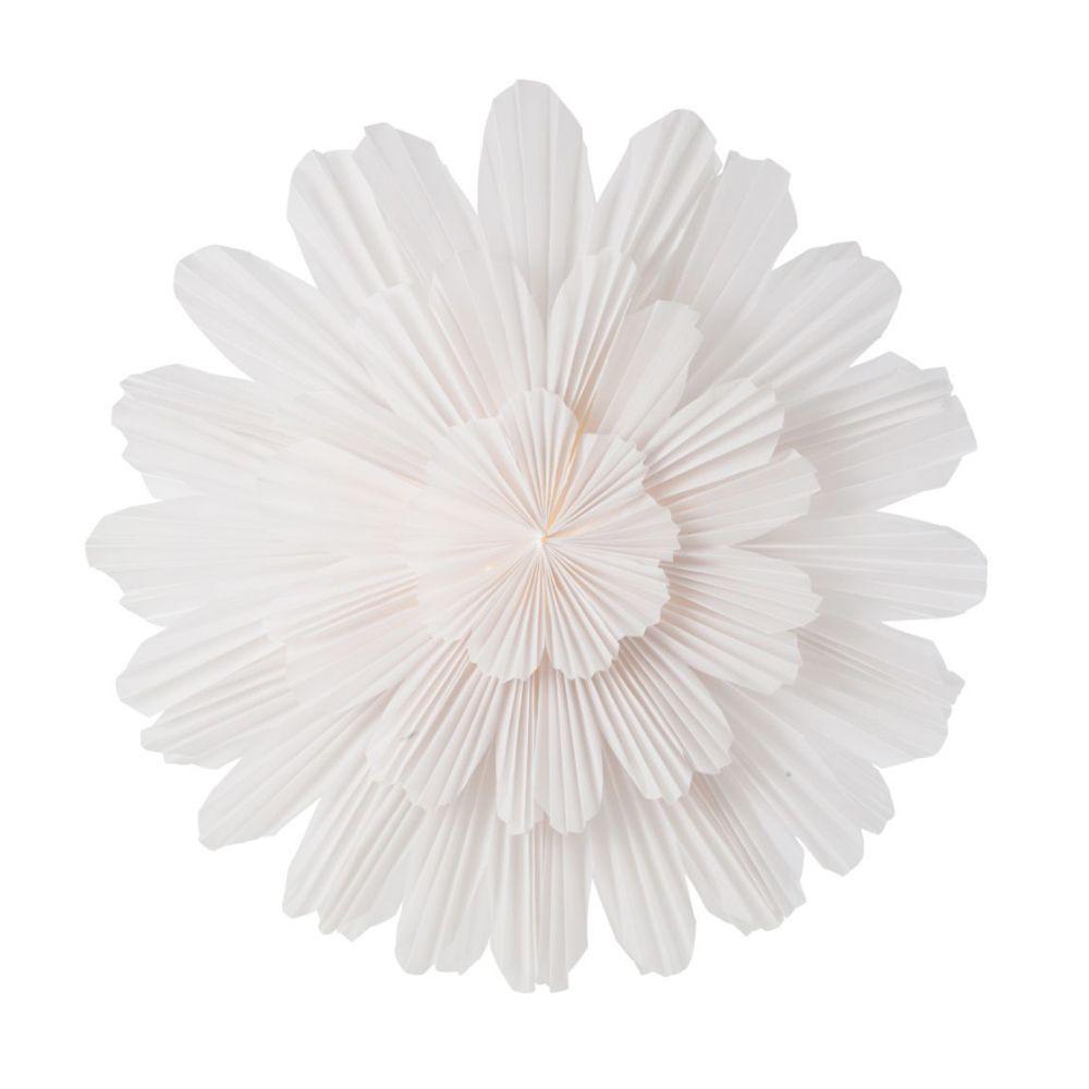Leuchtstern Snöblomma - weiß 68 cm
