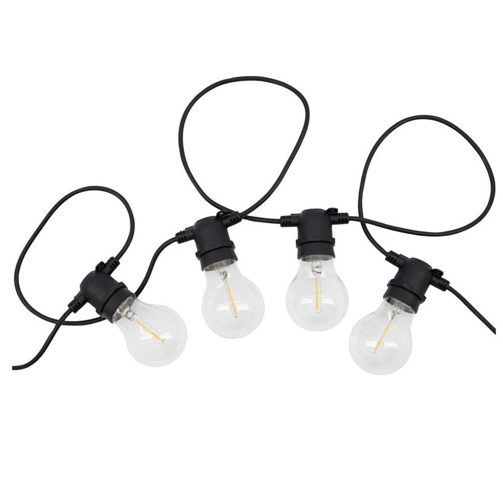 Lichterkette Function - schwarz 8,4 m