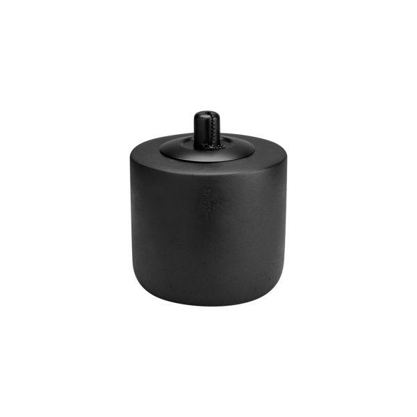 Öllampe - schwarz klein