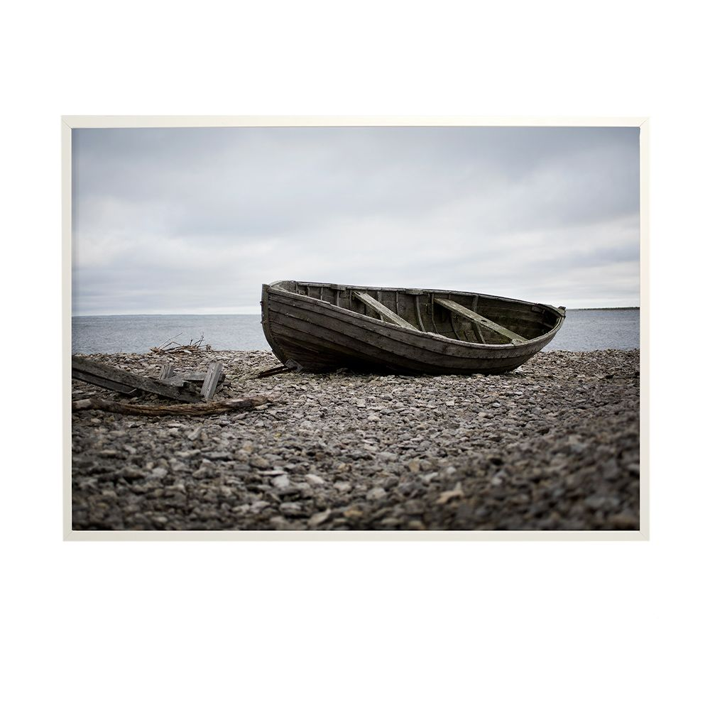 Poster Aged Boat - 50 x 70 cm
