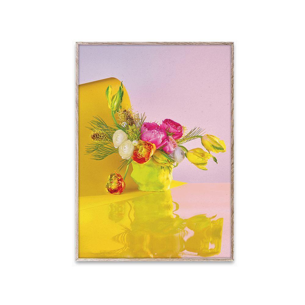 Poster - BLOOM 03 - Yellow - 30x40 cm
