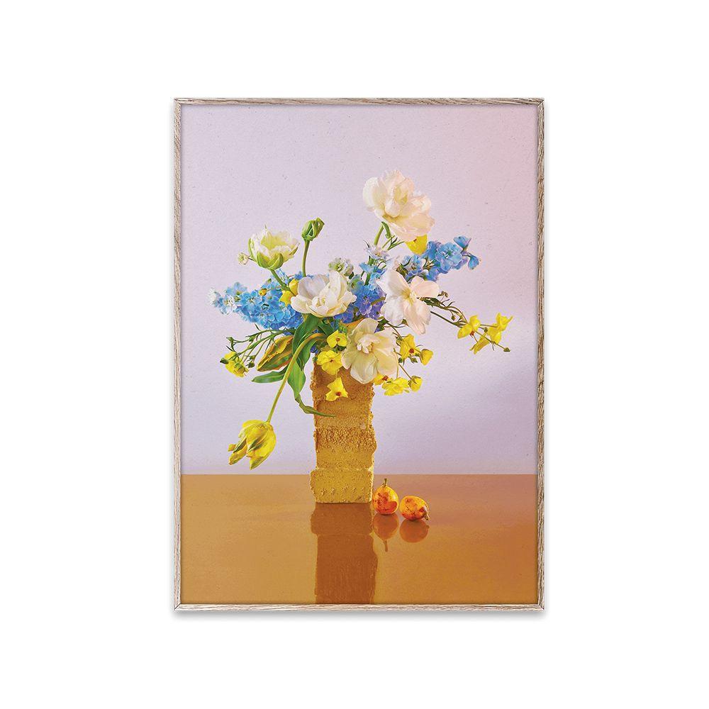 Poster - BLOOM 04 - Violet - 30x40 cm