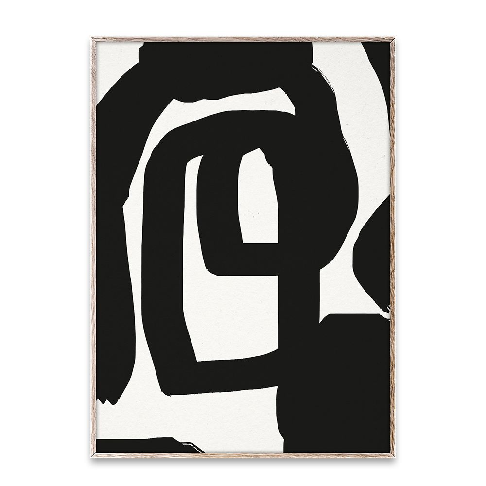 Poster - Bold Lines 01 - 50x70 cm