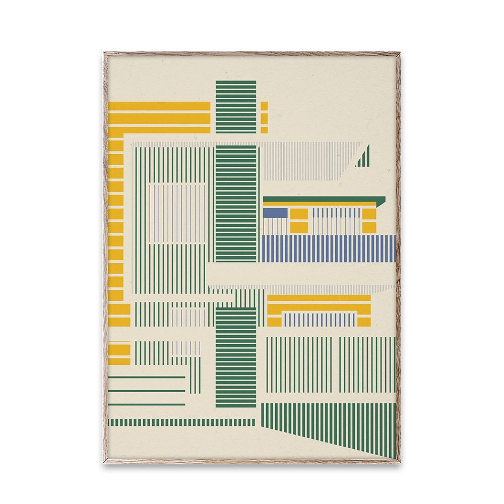 Poster - Empty Spaces 02 - Light - 50x70 cm