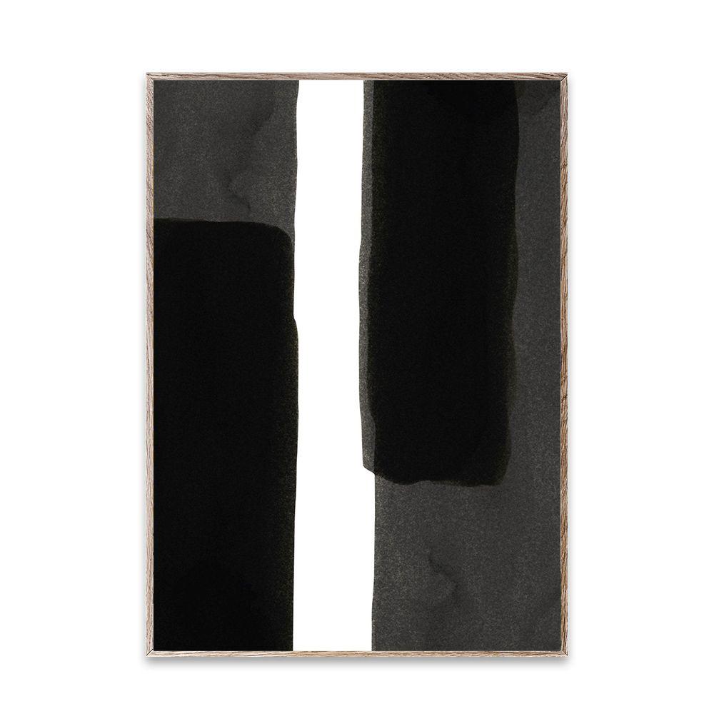 Poster - Ensō - Black I - 50x70 cm