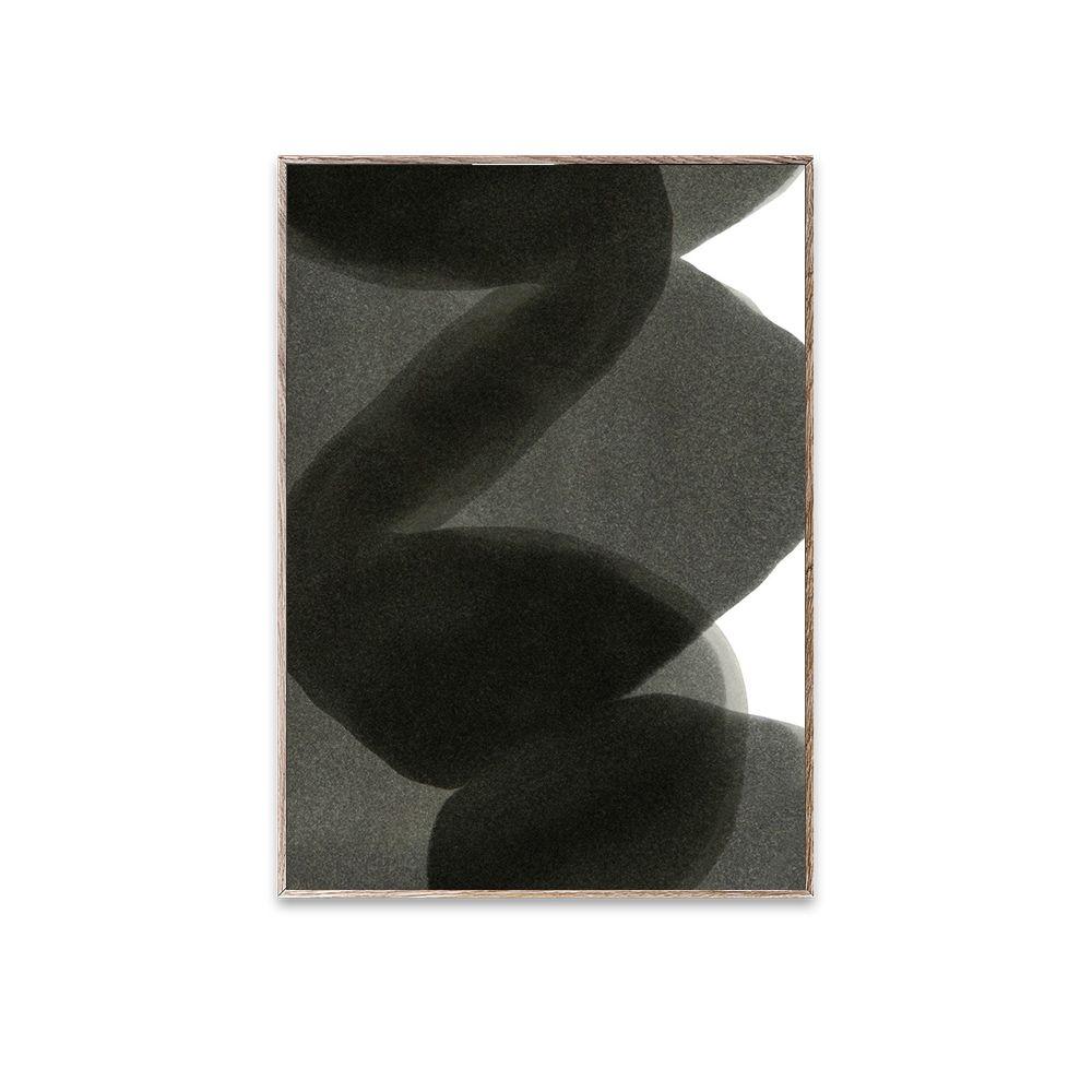 Poster - Ensō - Black II - 30x40 cm