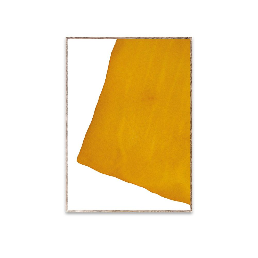 Poster - Ensō - Yellow I - 30x40 cm