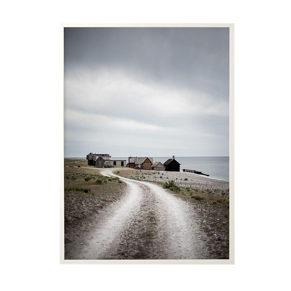 Poster Fishing Hut - 50 x 70 cm