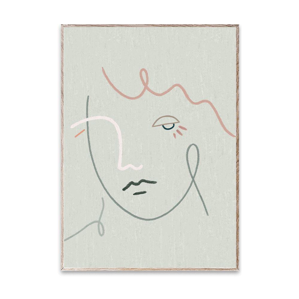 Poster - Gertrude - 50 x 70 cm