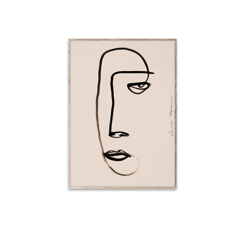 Poster - Serious Dreamer - 30x40 cm