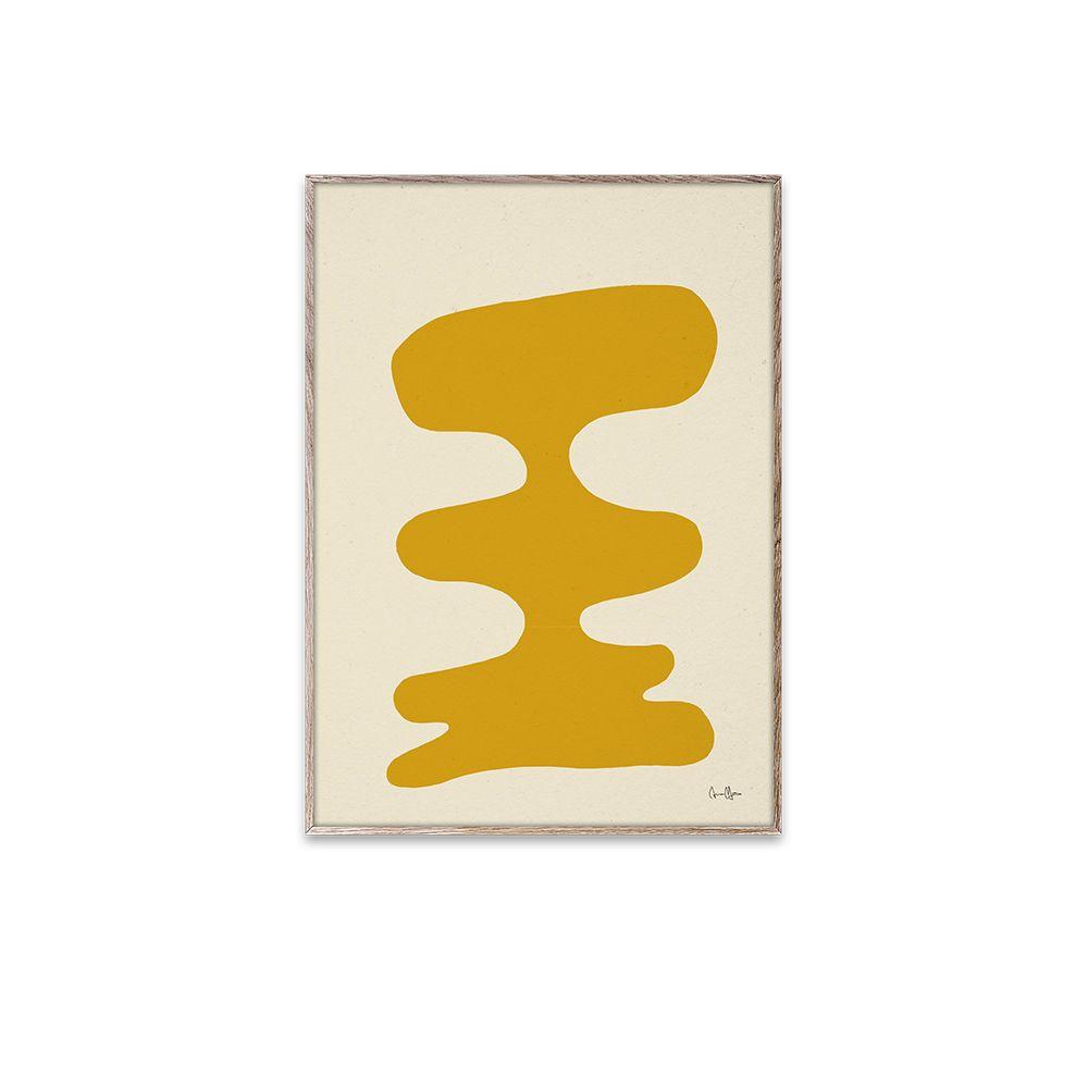 Poster - Soft Yellow - 30x40 cm