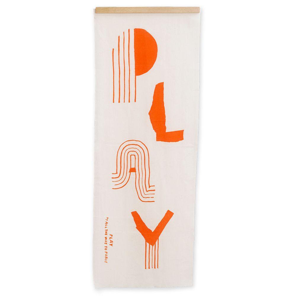 Poster - Tenugui PLAY - 34 x 90 cm