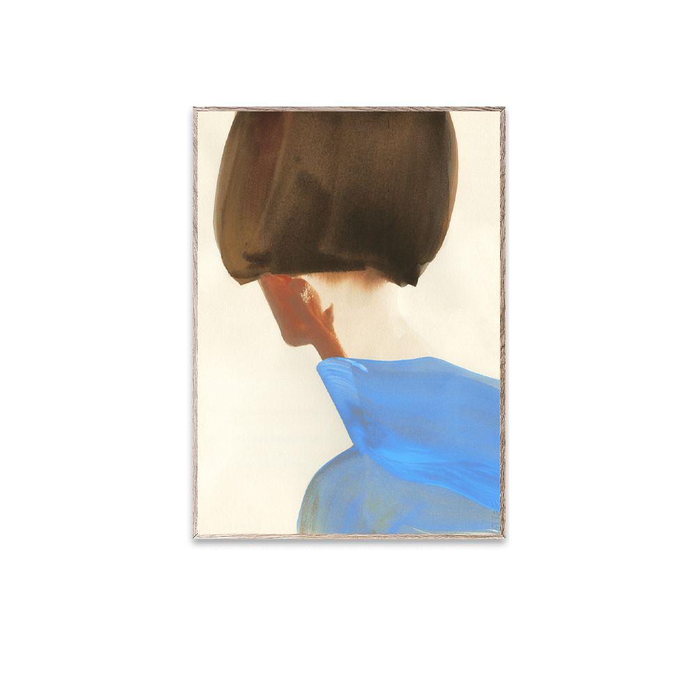 Poster - The Blue Cape - 30 x 40 cm