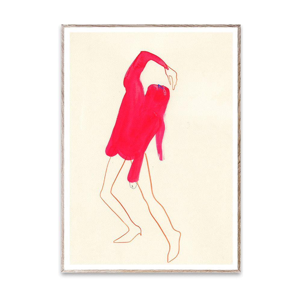 Poster - The Pink Pose - 50 x 70 cm