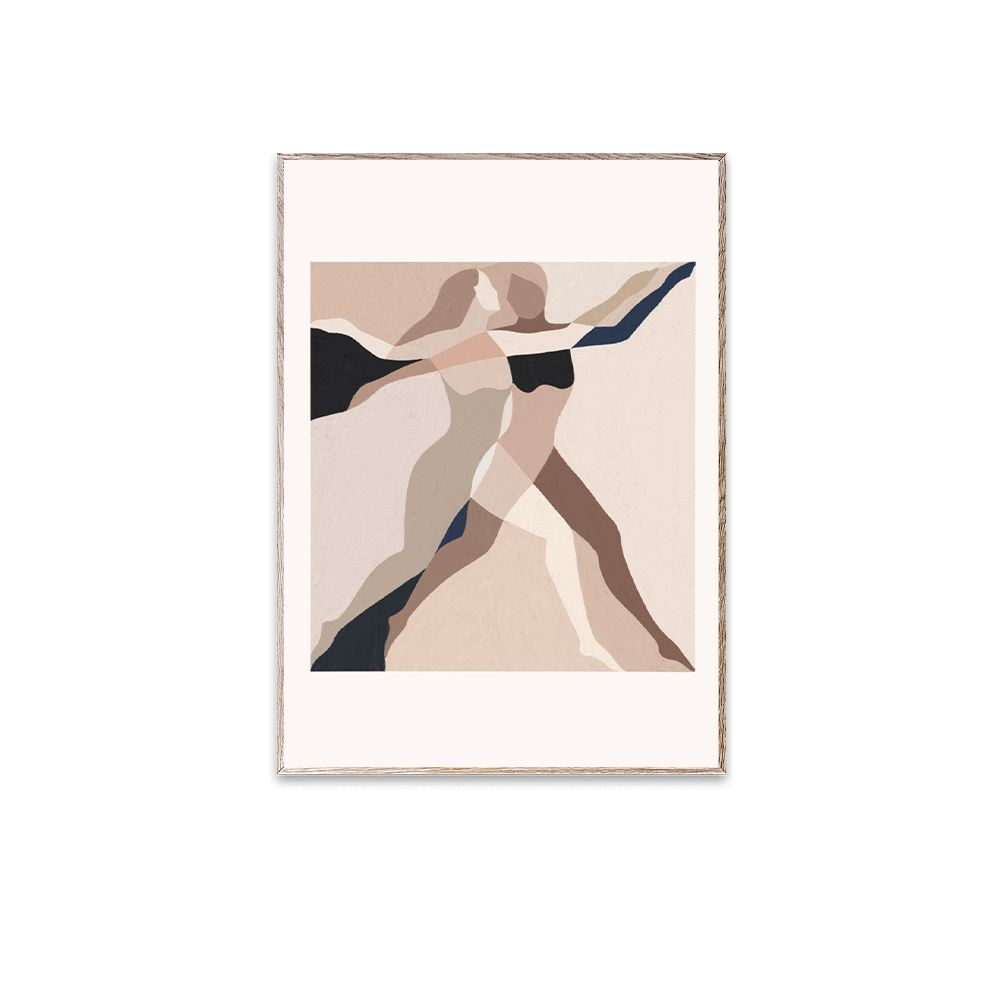 Poster - Two Dancers - 30 x 40 cm