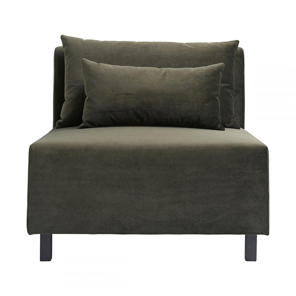 Sofa Mittelteil Slow - grün