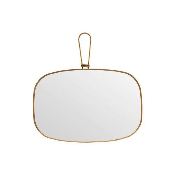 Spiegel - messing 30 x 20 cm