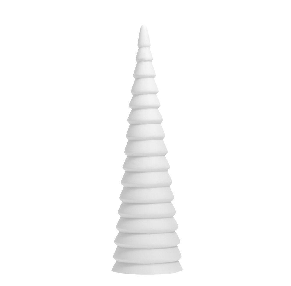 Tannenbaum aus Keramik GRANLIDEN - weiß