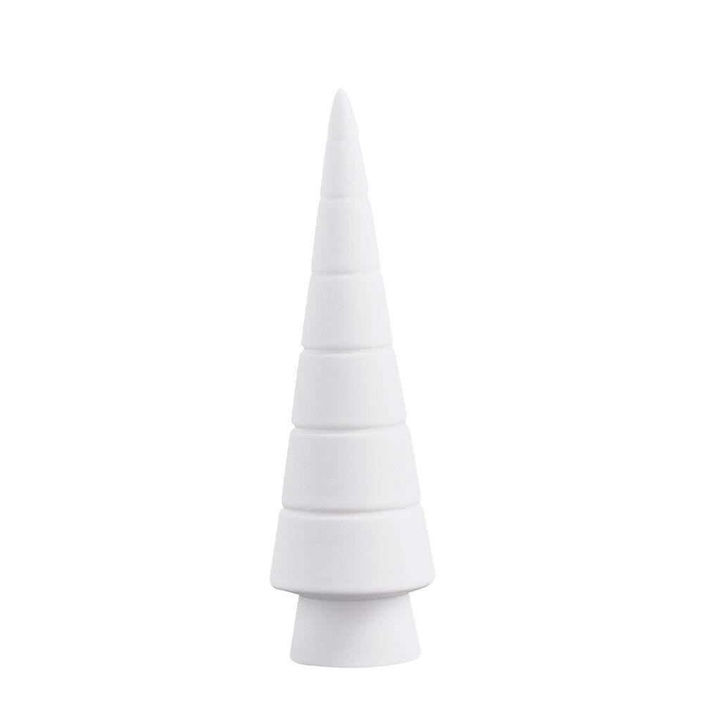 Tannenbaum aus Keramik GRANVIK - weiß