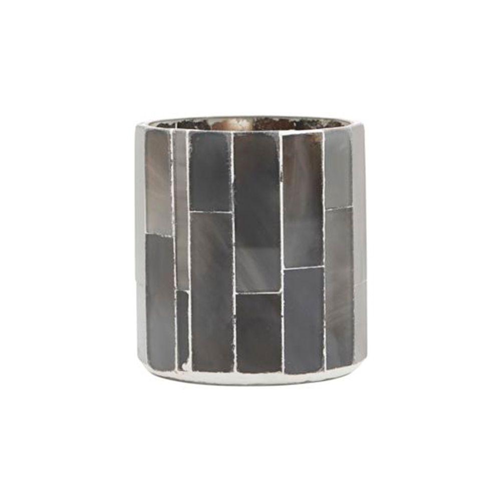 Teelichthalter Amroha - grau klein
