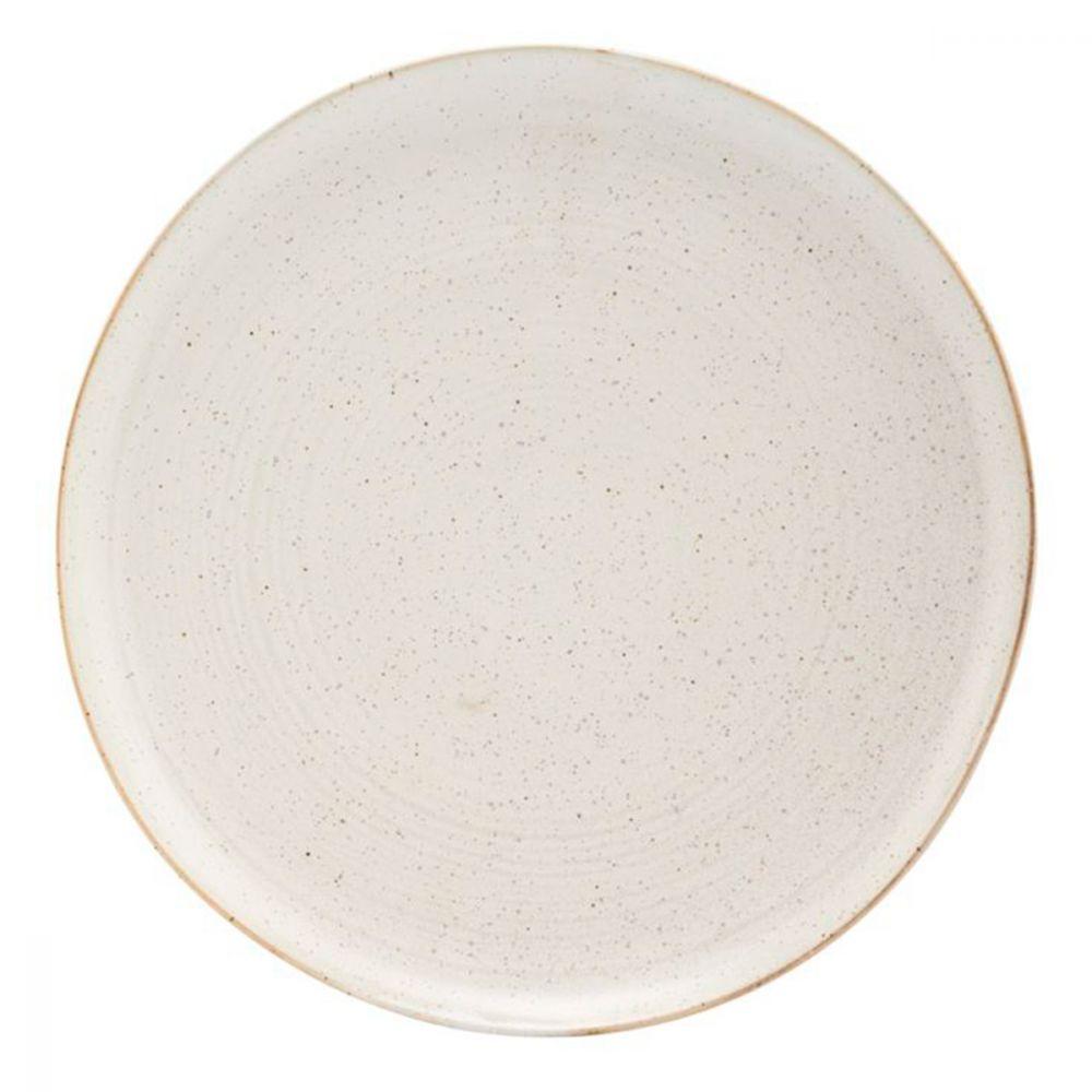 Teller Pion - grau/weiß Ø 28,5 cm